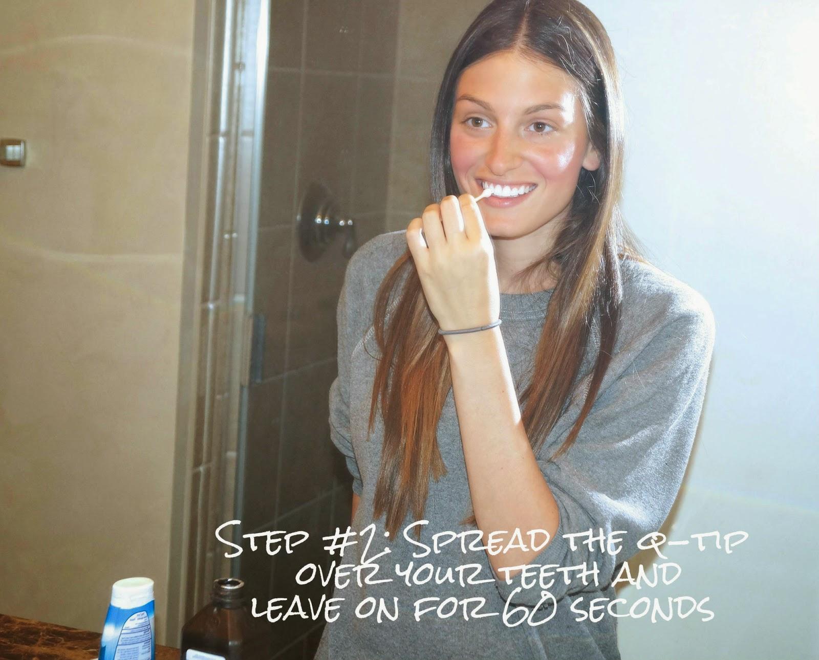 DIY: organic teeth whitening