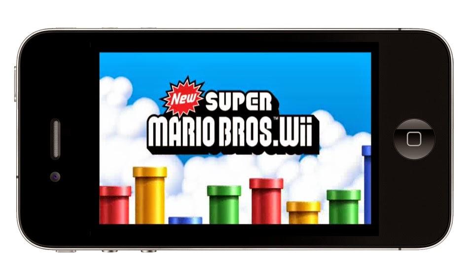 Super Mario Bros. Wii Nintendo on Apple iPhone