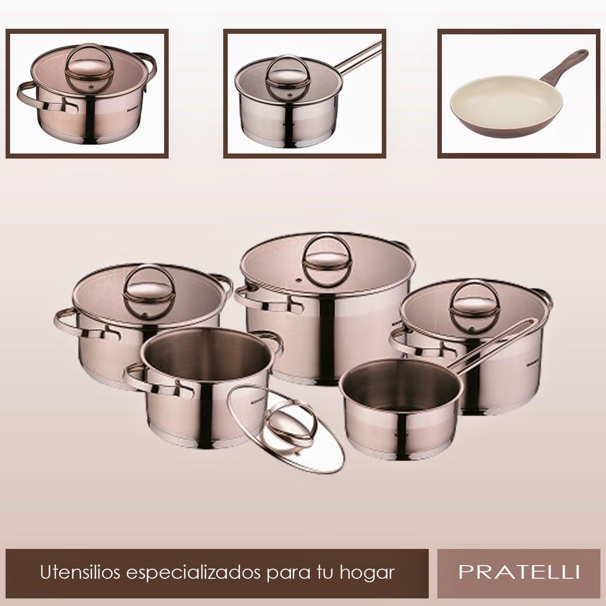 Utensilios especializados para tu hogar pratelli store for Utensilios de hogar