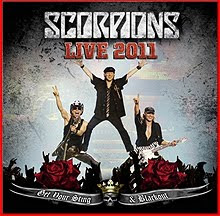 Scorpions Live 2011 In 3D Get Your Sting & Blackout