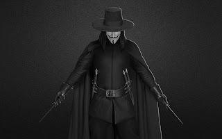 V For Vendetta 3D Model HD Desktop Wallpaper
