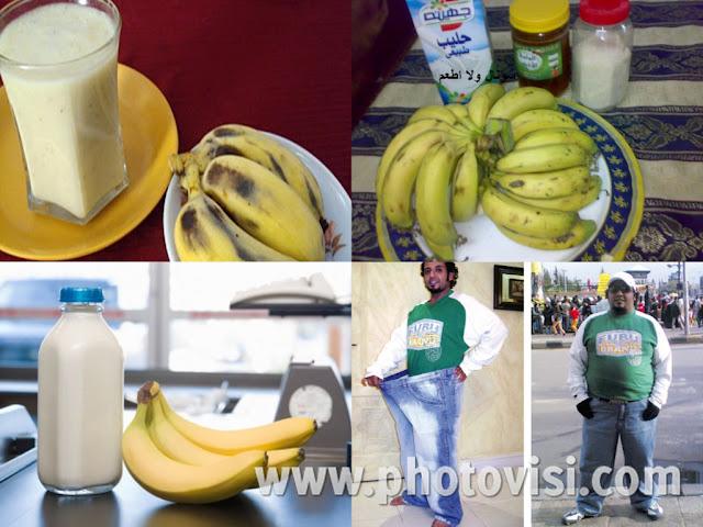 أفقد ٤ كيلو في ٤ أيام مع رجيم الموز واللبن فقط