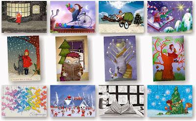 Navidad, Postales, exclusivo, diseño, Feliz Navidad