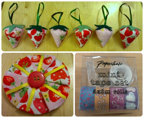 Popular Crafts Strawberry Swaps by craftypainter