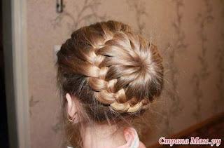 Best DIY Braided Bun Hairstyle