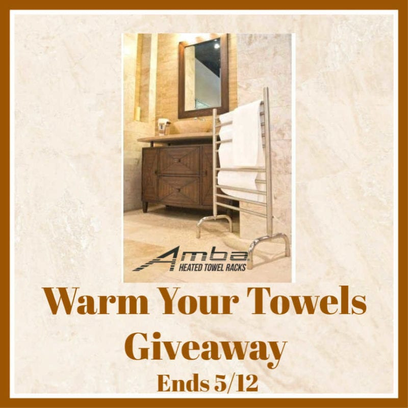 Warm Your Towels Giveaway