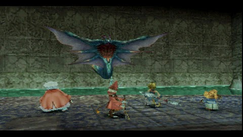 Final Fantasy IX, Gizamaluke Fight