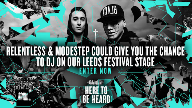 MODESTEP LAUNCHES SEARCH FOR UNDISCOVERED DJ WITH RELENTLESS