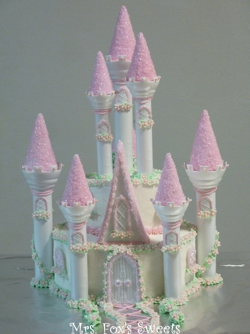 Pictures Of Princess Castle Cake : Ms. Fox s Sweets: Princess Castle Cake