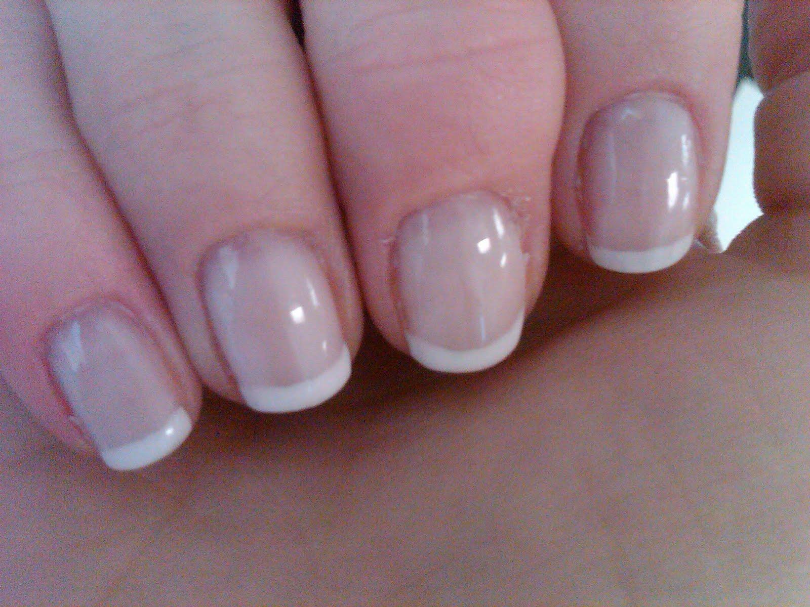 Nails N Stuff Shellac French Manicure