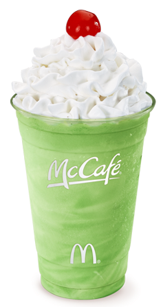 ... Shamrock Shake in the next two weeks, do not click on that link