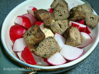 meatball-salad