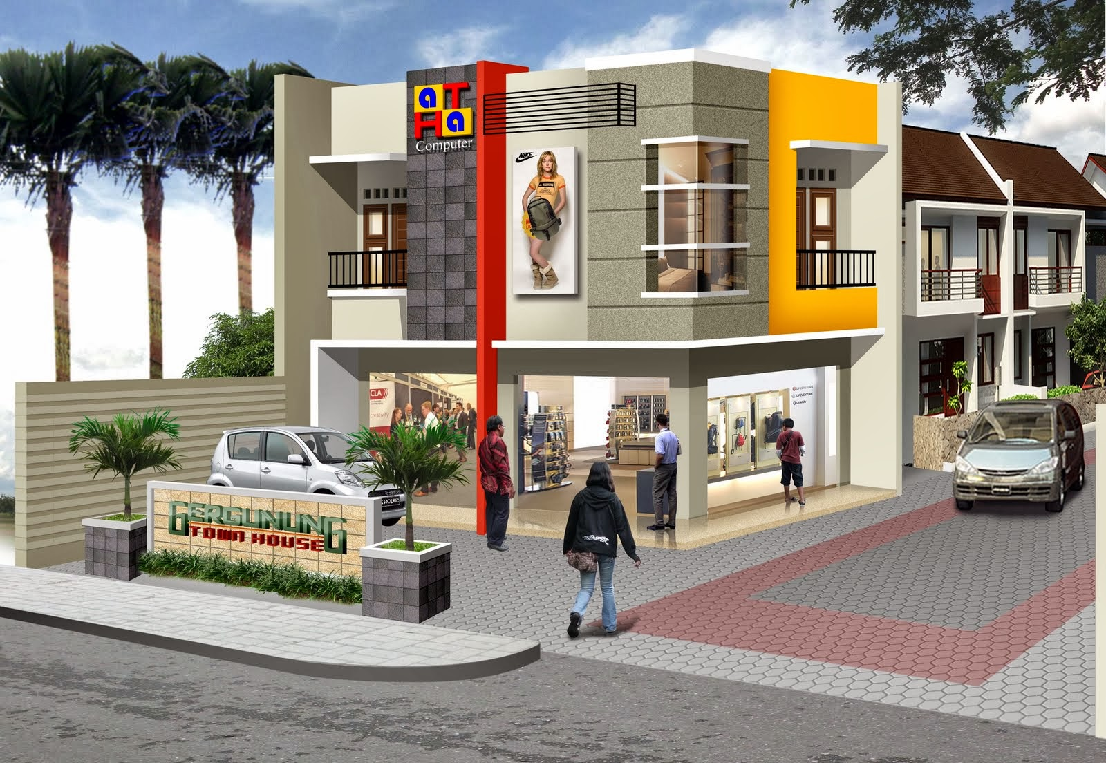 modern design small commercial building joy studio