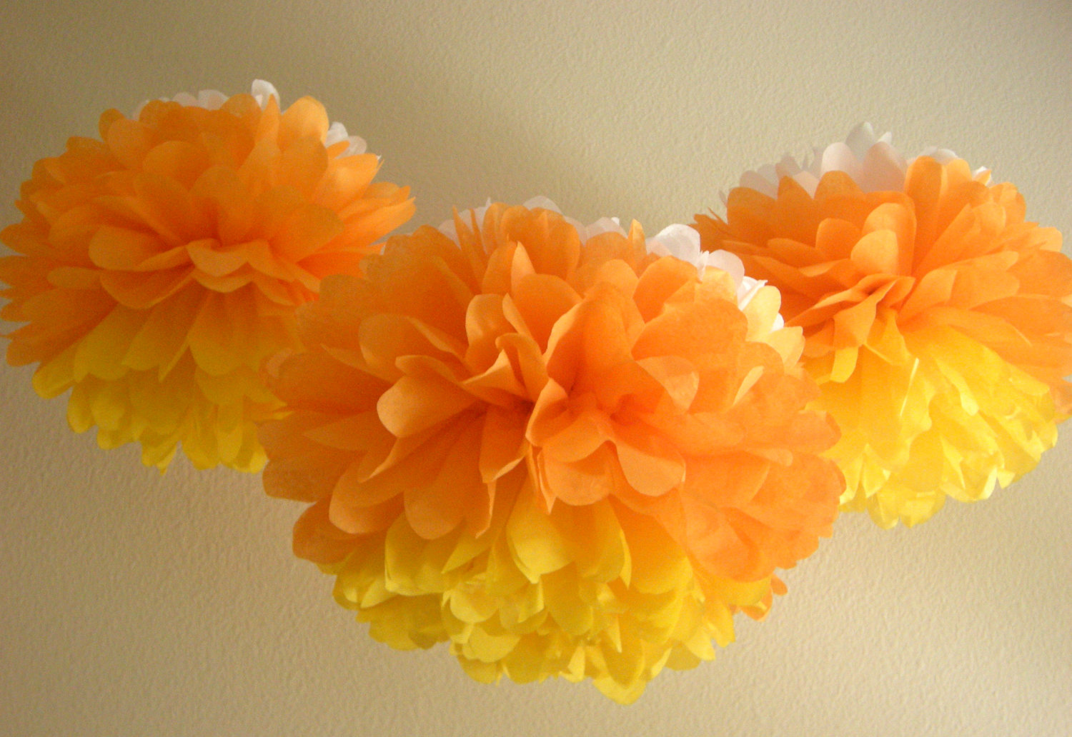 Candy Corn Products Halloween Candy Corn Pom Poms