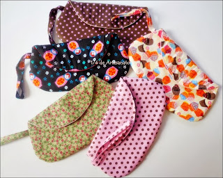 bolsa cluth em tecido