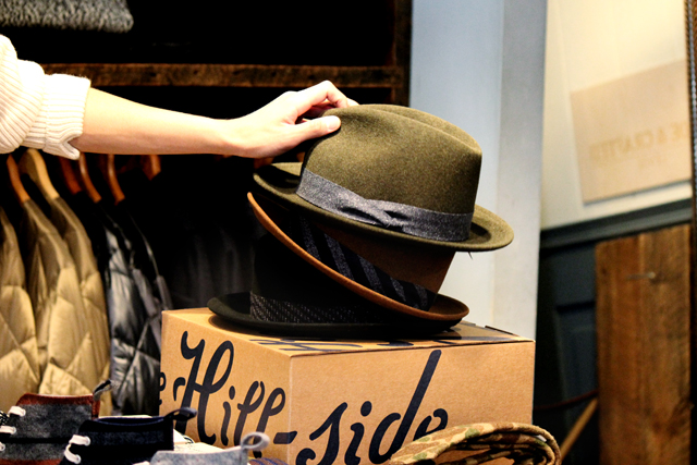 "The Hill Side ""Wool Felt Hat"" 19,940yen ヒルサイド"