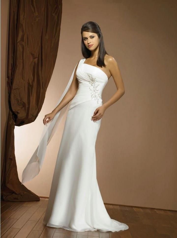 vestidos de novia de 1 tirante