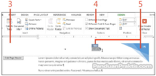 word 2013 manual page break