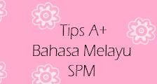 BahAsa Melayu,tips A+,SPM