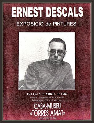 SALLENT-PINTURA-EXPOSICIONES-CASA-MUSEU-TORRES AMAT-ERNEST DESCALS-