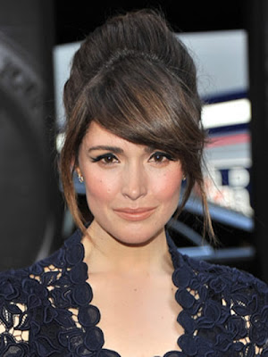Rose Byrne Side Bang