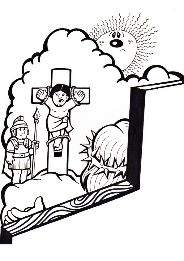 El Rincón de las Melli: 11º ESTACION: Jesús promete el Reino al buen ...