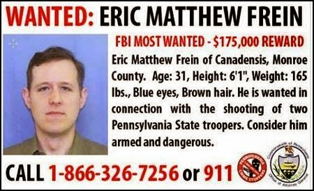 WANTED FOR MURDER OF PSP TROOPER