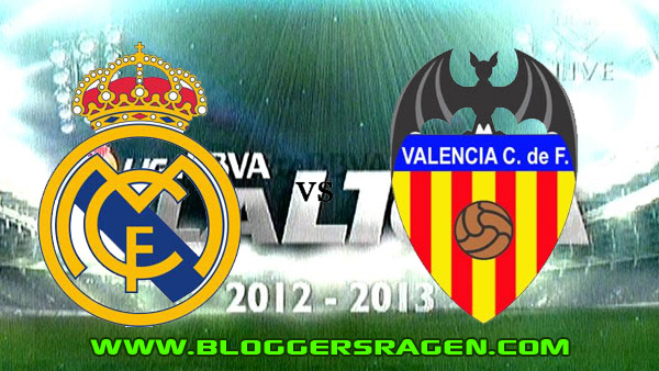 Pertandingan Real Madrid vs Valencia