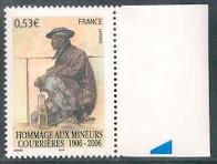 Définition d'un timbre sans barre phosphorescennte