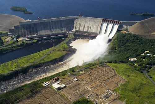 Usina hidrelétrica Guri - Venezuela