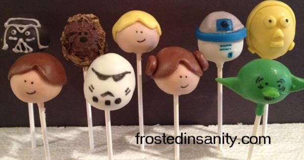 Star Wars Cake Pop Images : Frosted Insanity: Star Wars Cake pops
