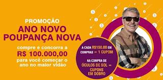 Participar Promoção Óticas Carol Ano Novo Poupança Nova