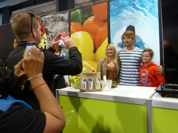 Happiness is... Durban Good Food & Wine Show 2014 - Hayden Quinn
