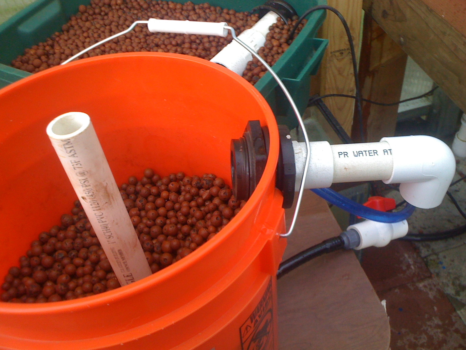 Hydroponics blog healthier food building an aquaponic for Aquaponics filter