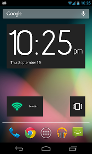 Clean Widgets app screenshoot