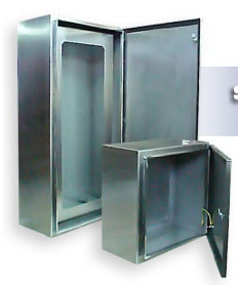 panel box stainless stainless steel indoor