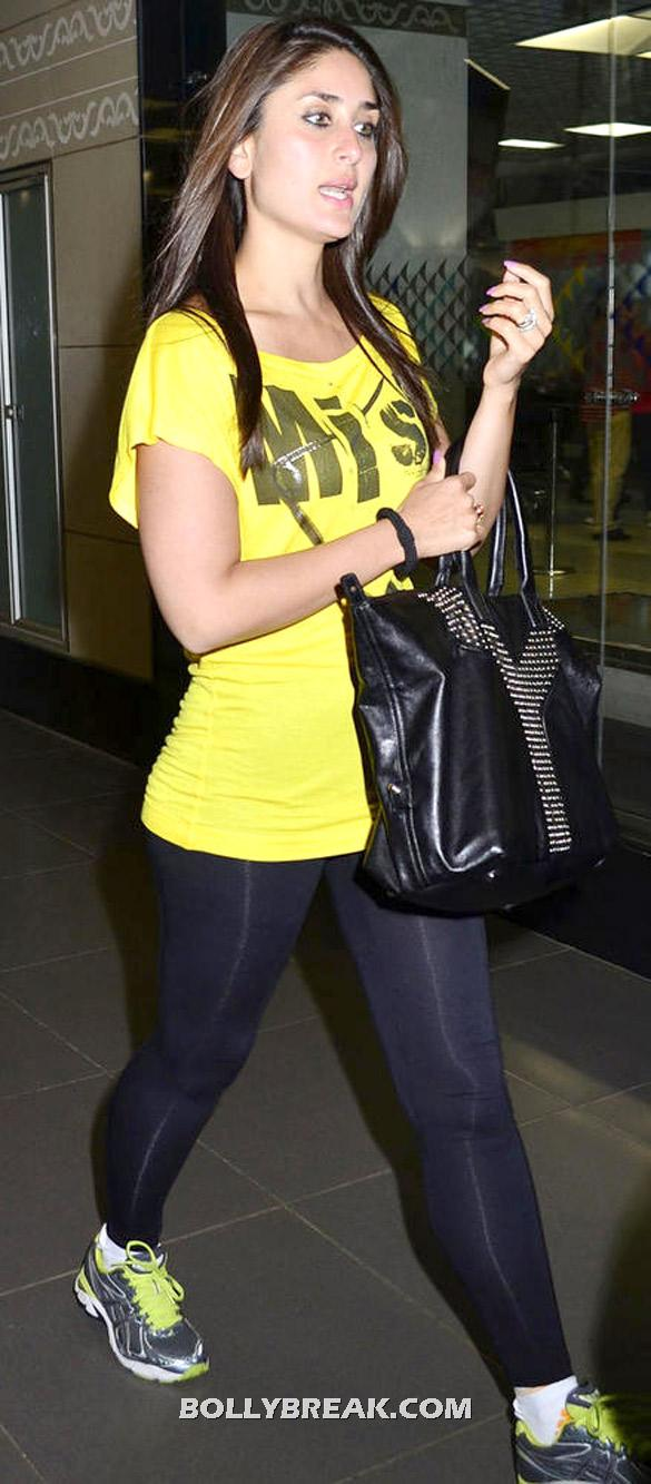 Karina Kapoor Hot Legs in Slacks - (6) - Karina Kapoor spotted at the International Airport