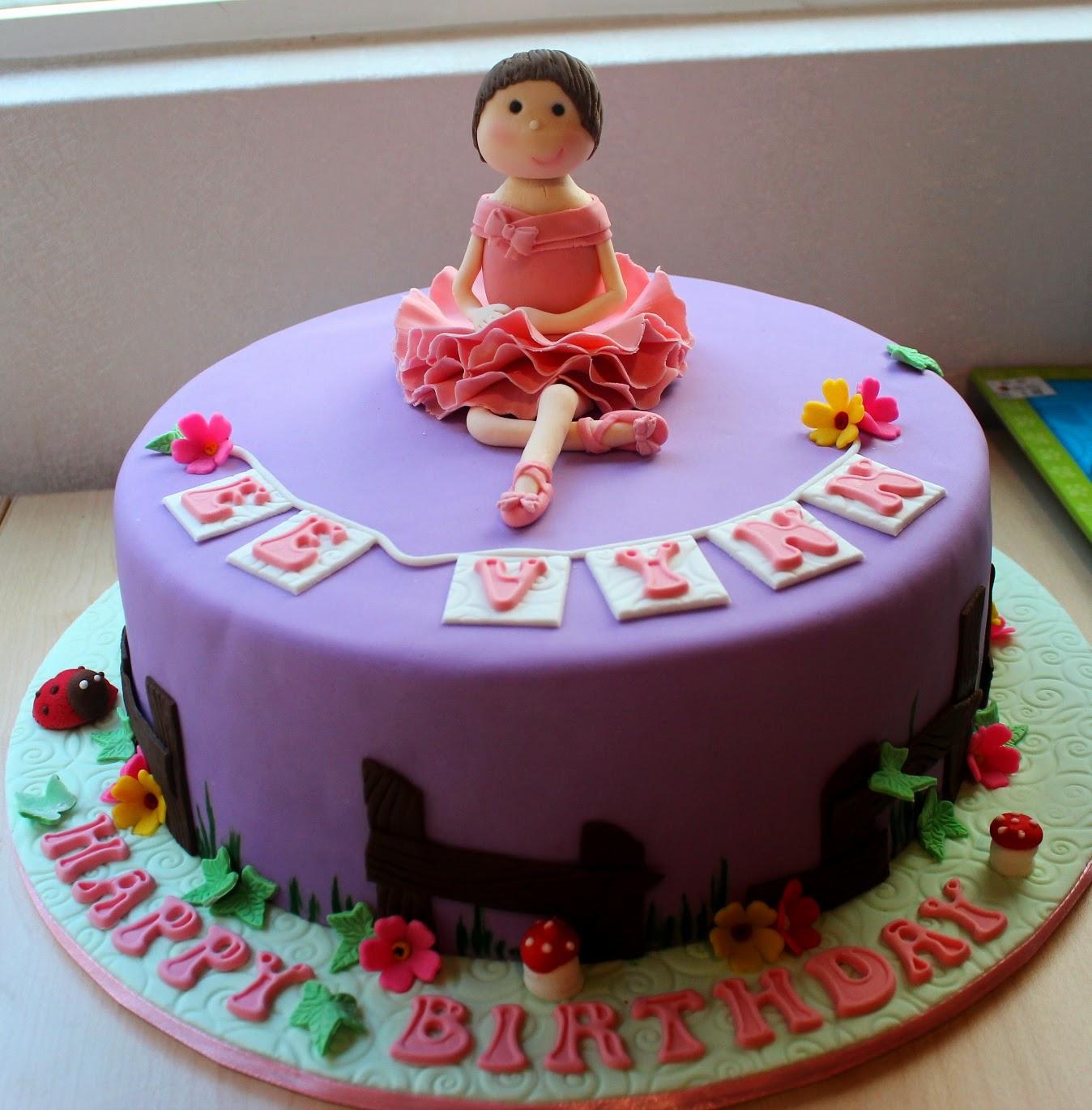 Dessert Inc Ballerina Birthday Cake