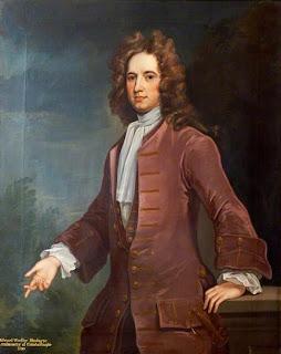 Portrait of Edward Wortley Montagu by John Vanderbank, 1730