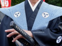 Japanese samurai at Jidai Festival Tokyo copyright peter hanami 2010