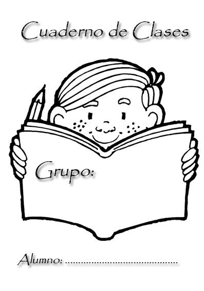 Portadas para cuadernos escolares - Imagui