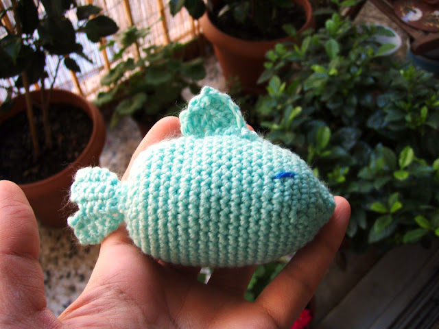 little fish crochet plush toy
