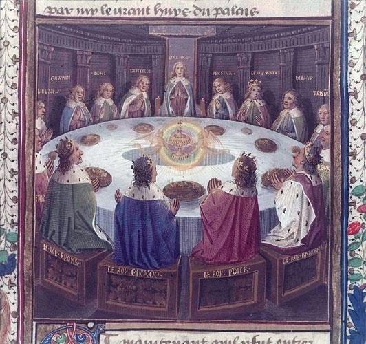 Le chevalier courtois mythe ou r alit l 39 id al - Le roi arthur et les chevaliers de la table ronde ...