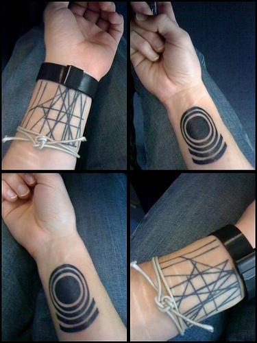 P A P I Diamond Tatuaż