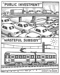 Public investment and wasteful subsidy are in the eye of the beholder