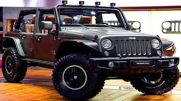 O Salão De Paris, Na França, Continua Acontecendo E Novos Modelos Vão  Aparecendo. Desta Vez, A Jeep Apresentou O Conceito Wrangler Unlimited ...