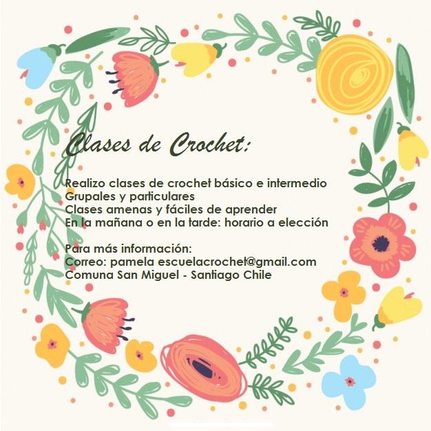 Clases de Crochet (Santiago - Chile)