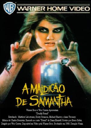 Filme A Maldição de Samantha Dublado AVI DVDRip