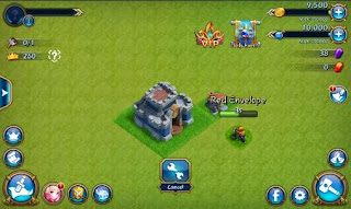 Screenshots of the Tribal rush for Android tablet, phone.