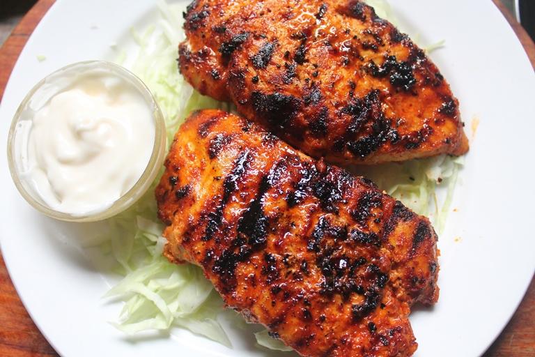 Spicy Grilled Chicken Breast Recipe Yummy Tummy